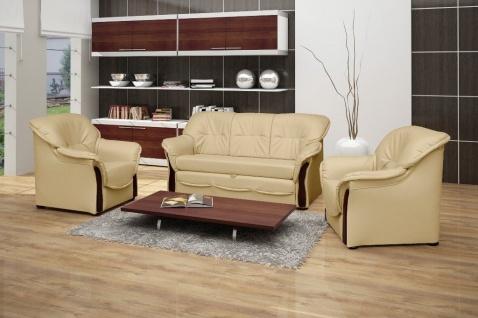 Couch Sofa Couchgarnitur Honorate Polesterecke mit Schlaffunktion Wohnlandschaft