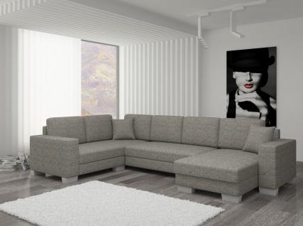 Couch Couchgarnitur Sofa Polsterecke MC 08 U Wohnlandschaft Schlaffunktion