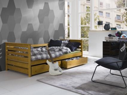 Etagenbett Hochbett Kinderbett Doppelbett EXO 90x200 unschädlich lackiert