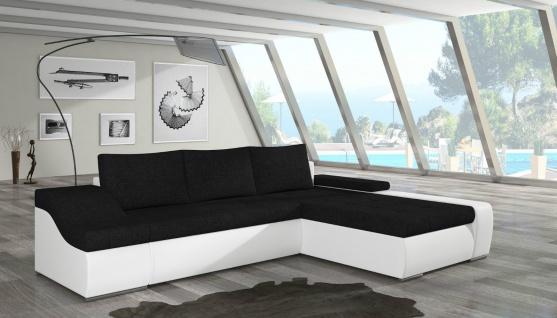 Couch Couchgarnitur ONTARIO L Sofagarnitur Sofa Wohnlandschaft Schlaffunktion