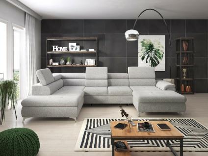 MONK XL Schlaffunktion Wohnlandschaft Relaxfunktion Couchgarnitur Couch Eck Sofa