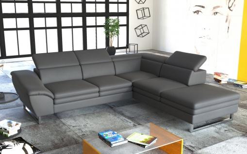 Couch Couchgarnitur MICHELLINI 1 Sofagarnitur Sofa Wohnlandschaft Polsterecke