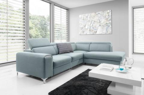 GENOVA 3FBL + R + OSP Sofa Couchgarnitur Couch CORNER Polsterecke Wohnlandschaft