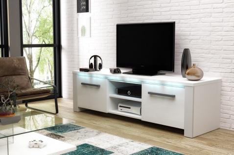 TV Board Lowboard Unterschrank Sideboard Manhattan matt oder hochglanz 140 cm