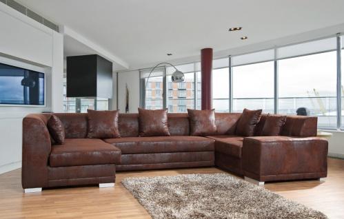 Couch Couchgarnitur Sofa Garnitur Schlafsofa VENICE BIS mit Schlaffunktion U