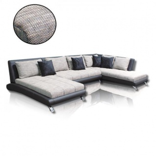 Couch Garnitur Sofa Ecksofa Sofagarnitur Sofa ONTARIO U Wohnlandschaft