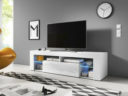Sideboard Lowboard TV Fernsehschrank EVEREST 140 Kommode inkl LED Highboard NEU