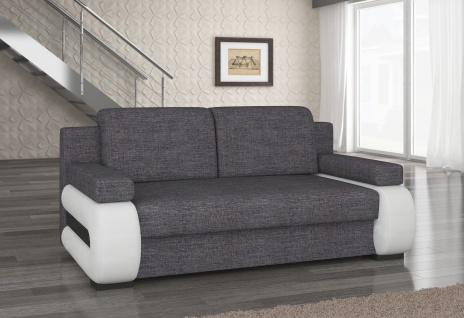 Couch Couchgarnitur Sofa Polstergarnitur LA 05 mit Schlaffunktion Jugendsofa