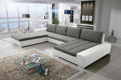 Sofa Couchgarnitur Couch VERONA 4 U Polsterecke Wohnlandschaft Schlaffunktion