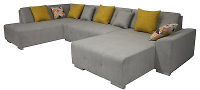 BELLIS U Form Couchgarnitur Couch Polster Sofa Wohnlandschaft Polstergarnitur