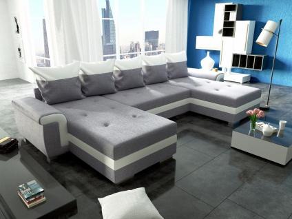 Sofa Couch Garnitur Ecksofa Sofagarnitur OPTI Schlaffunktion Wohnlandschaft NEU