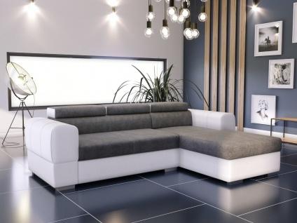 Couch Garnitur Ecksofa Sofagarnitur Sofa DEEP Schlaffunktion Wohnlandschaft NEU