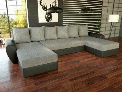 Couchgarnitur PUMA Sofa Sofagarnitur Schlaffunktion Polsterecke Couch NEU!