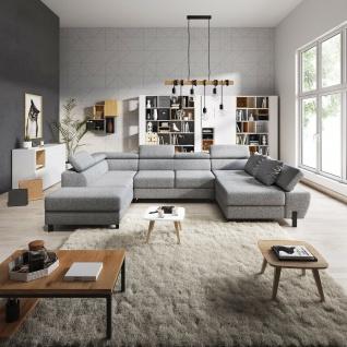 MOLINA XL Schlaffunktion Wohnlandschaft Relaxfunktion Couchgarnitur Couch Sofa