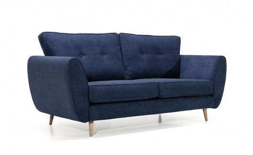 AMELIA 2 er Sofa mit Hocker Couchgarnitur Couch Polster Sofa Wohnlandschaft NEU - Vorschau 4