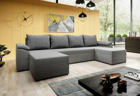 Couchgarnitur DORIS U Sofa Sofagarnitur Schlaffunktion Polsterecke Couch NEU!