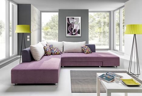 SPLIT Couchgarnitur Couch Polstergarnitur Sofa Polsterecke mit Schlaffunktion