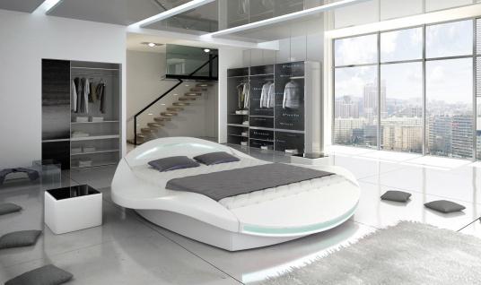 FERO Doppelbett Schlafzimmerbett Lattenrost Bettkasten Polster Bett 140x200
