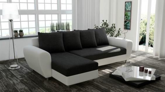 Couch Garnitur Ecksofa FEDERKERN inside Sofagarnitur Sofa ROM Schlaffunktion