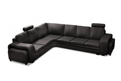 Couchgarnitur Sofa Polsterecke Couch SOFT Polstergarnitur Ecksofa Wohnlandschaft