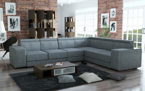 Couchgarnitur Couch Garnitur Sofa CARI Muna 08 Polsterecke Wohnlandschaft