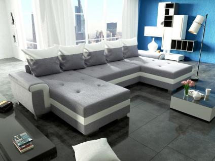 Couch Garnitur Ecksofa Sofagarnitur Sofa OPTI Schlaffunktion Wohnlandschaft NEU