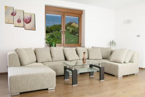 Sofa Couchgarnitur Couch Ecksofa Schlafsofa SUPERMAX 6 Teile Wohnlandschaft