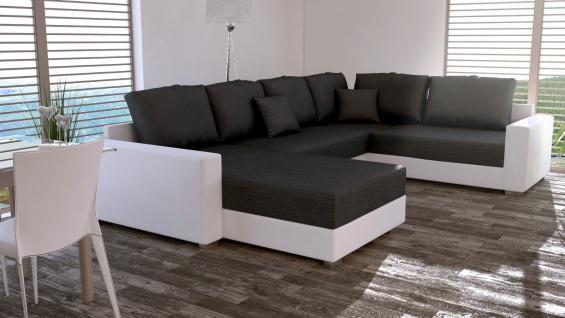 Couchgarnitur Couch Garnitur Sofa STY. 5 U Schlaffunktion Wohnlandschaft