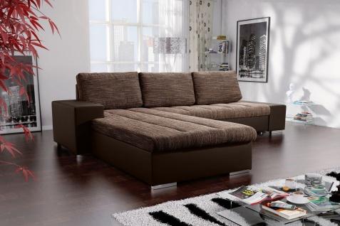 Sofa VERONA 8L Couch Sofagarnitur U Wohnlandschaft Schlaffunktion