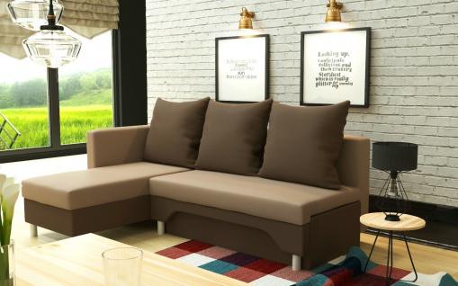 KARO br. Couch Garnitur Ecksofa Sofagarnitur Sofa Wohnlandschaft Schlaffunktion