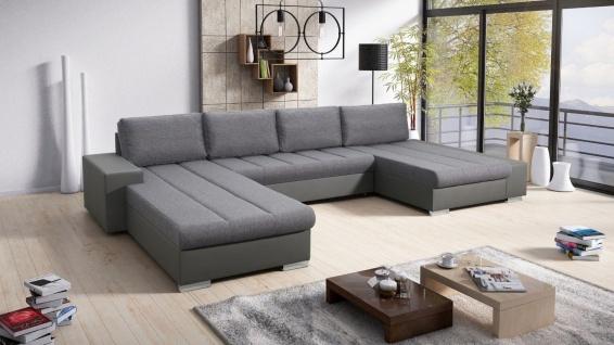 Couchgarnitur Sofa Couchgarnitur Couch Sofagarnitur VERONA 10 U Schlaffunktion