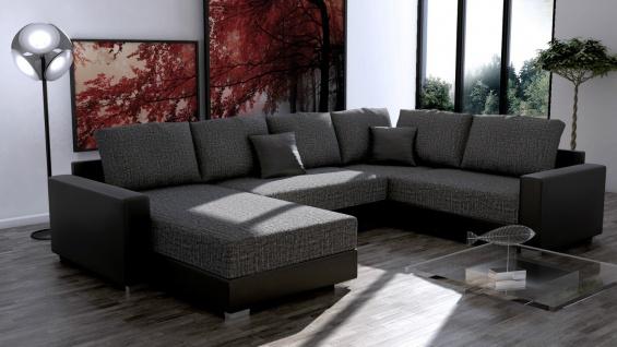 Couchgarnitur Ecksofa Sofagarnitur Sofa STY. 3.1 Wohnlandschaft Schlaffunktion