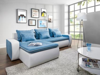 VIVA Couchgarnitur Couch Polstergarnitur Sofa Polsterecke mit Schlaffunktion