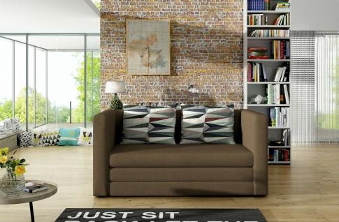 Sofa Couch Garnitur Sofagarnitur NEVA mit Schlaffunktion NEU