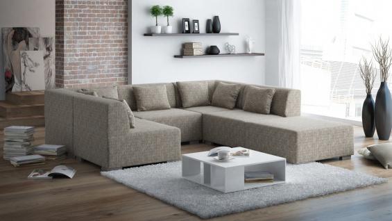 Couch Couchgarnitur SUPERMAX 6 Polsterecke Sofa Garnitur Wohnlandschaft NEU