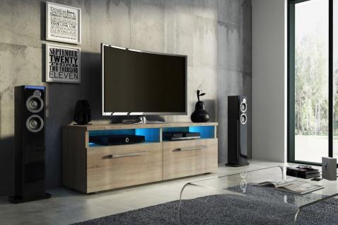 TV Board Lowboard Unterschrank Sideboard BONN matt oder hochglanz 100 cm