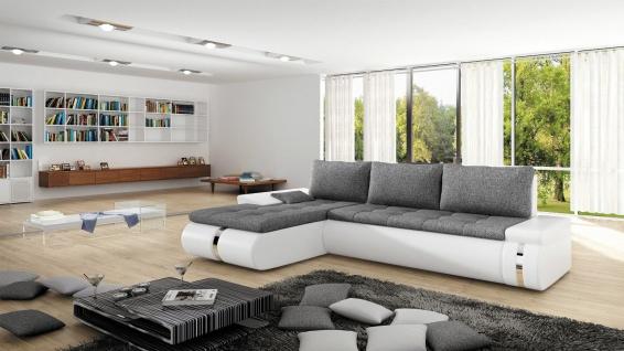 Couchgarnitur FADO MINI Sofa Eckcouch Schlaffunktion Couch Polsterecke Ecksofa