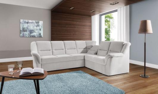 Couchgarnitur LISBONA L Sofa mit Schlaffunktion Couch Polsterecke Ecksofa