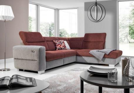 Couchgarnitur Couch FERA mit Relaxfunktion Sofa Wohnlandschaft Polstergarnitur