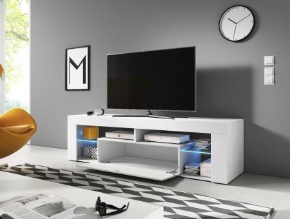 Sideboard Lowboard TV Fernsehschrank EVEREST 160cm Kommode ink LED Highboard NEU - Vorschau 4