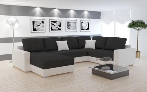 Sofa Couchgarnitur Couch Sofagarnitur STY 5 U Wohnlandschaft Schlaffunktion