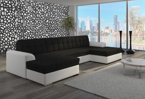 Couch Couchgarnitur Sofa Polsterecke VET 7 Wohnlandschaft mit Schlaffunktion