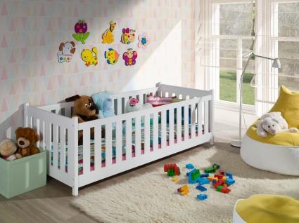 Etagenbett Hochbett Kinderbett Doppelbett CONCEPT 90x200 unschädlich lackiert