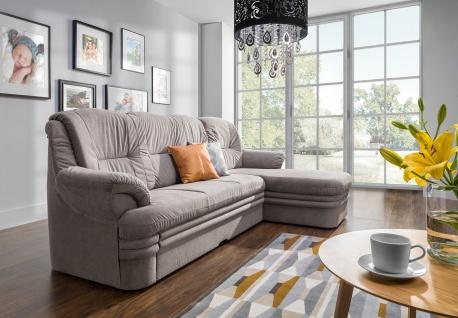Couchgarnitur Couch DUBAI 3FBLOSBP Sofa Polsterecke Schlaffunktion