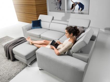 GENOVA CORNER Sofa Couchgarnitur Couch Polsterecke Wohnlandschaft
