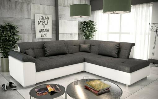 Sofa Couch Garnitur Sofagarnitur LIMO L mit Schlaffunktion Wohnlandschaft NEU