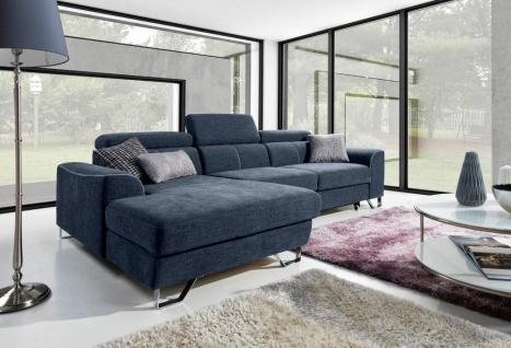 Couchgarnitur Couch ASTI osbl+3fbp Schlaffunkt Sofa Polsterecke Wohnlandschaft
