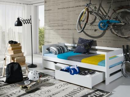 Etagenbett Hochbett Kinderbett Doppelbett ERGONONIC 80x180 unschädlich lackiert