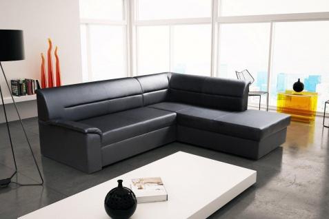 Sofa Couchgarnitur ELANO Couch Sofagarnitur Wohnlandschaft mit Schlaffunktion