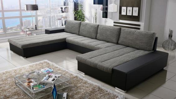 Sofa Couchgarnitur Couch Sofagarnitur U Wohnlandschaft Schlaffunktion VERONA U